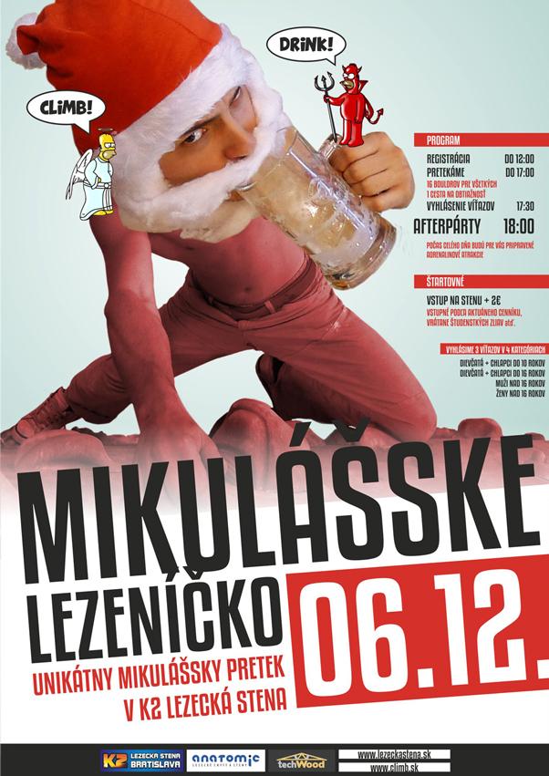 Mikulášske lezeníčko 06.12.2014