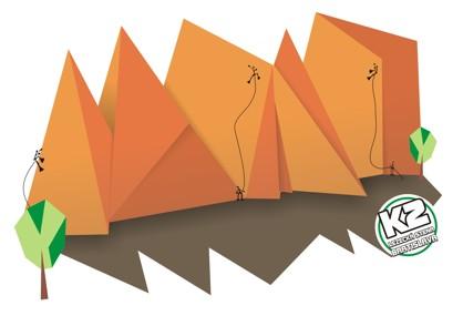 Denný Letný Lezecký tábor - Lezecká stena K2