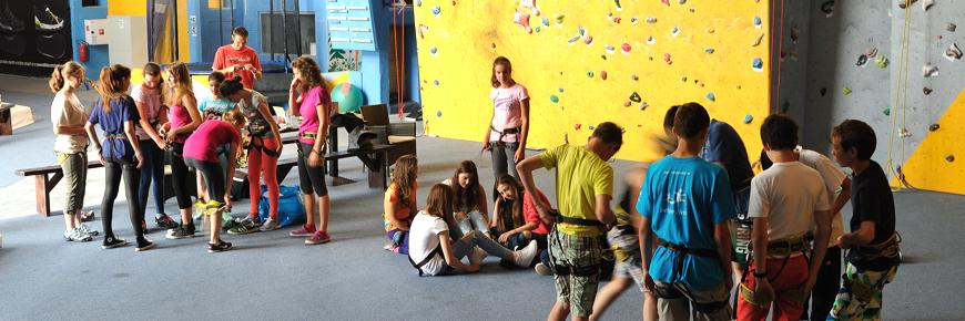 Externé lezecké kurzy pre deti
