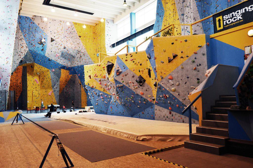 Lezecká stena K2 - Bratislava