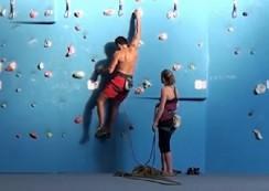 Video: Climbing wall K2 Bratislava