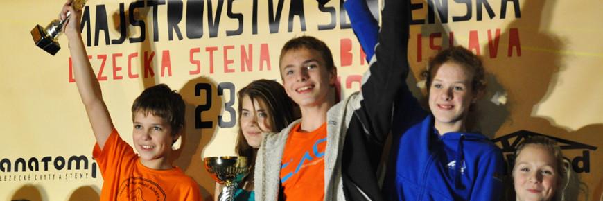 Stupne víťazov MSR 2013