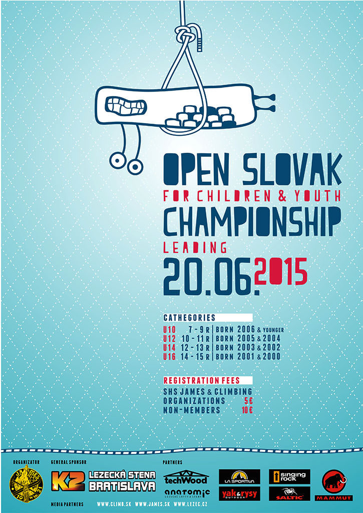Open Slovak Climbing Championship for Children & Youth 2015