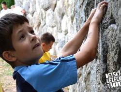 Detský lezecký letný tábor 2015