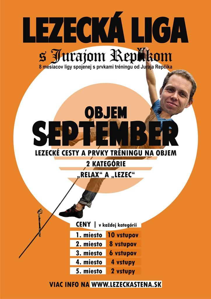 Lezecká liga - September