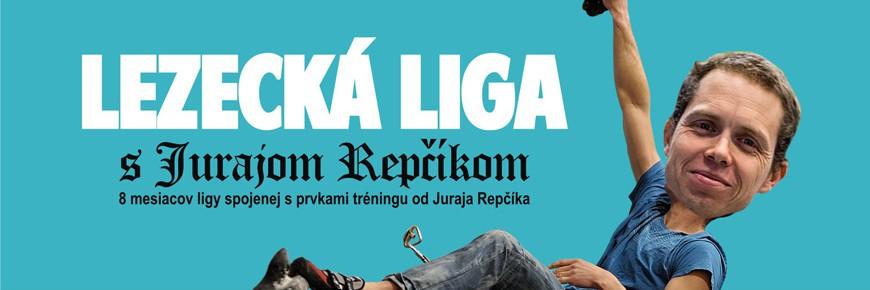 Lezecká liga s Jurajom Repčíkom