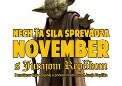 Lezecká liga - November