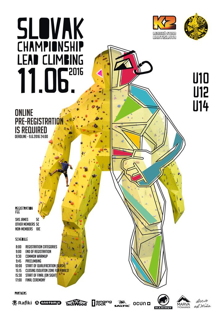 Open Slovak Climbing Championship for Children 2016