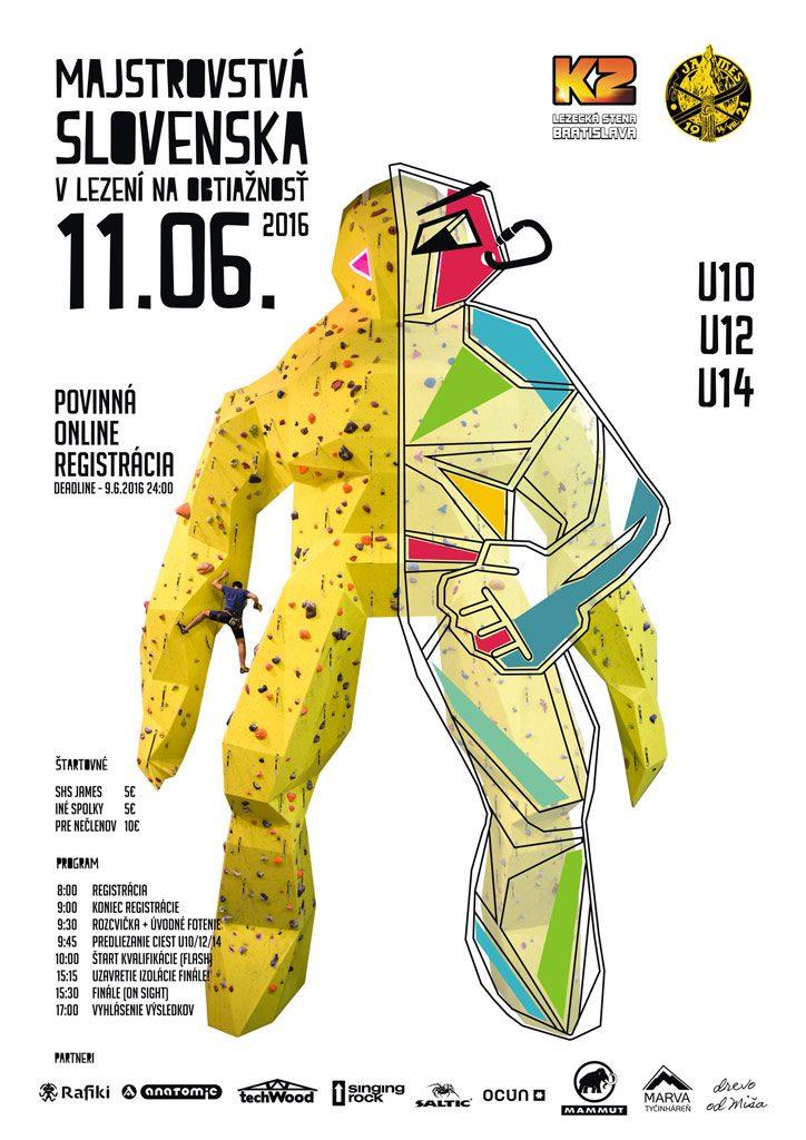 Majstrovstvá SR v lezení detí 2016
