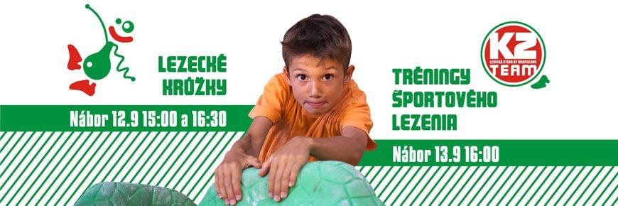 Lezecké tréningy a krúžky - September 2016