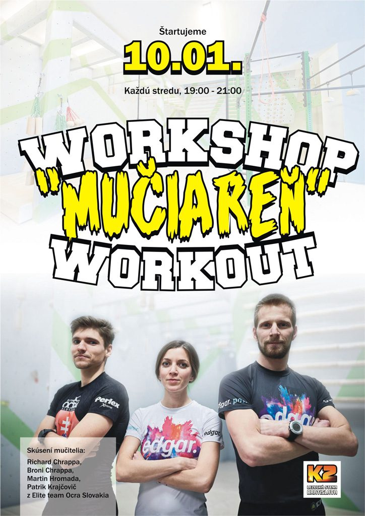 "Workshop ""Mučiareň"" Workout"